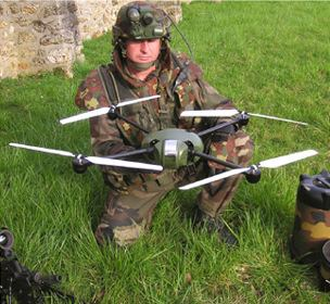 French army drone
