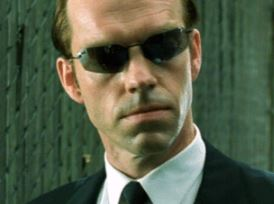 Agente Smith en Matrix
