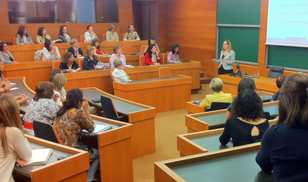 Montse Peñarroya en el IESE