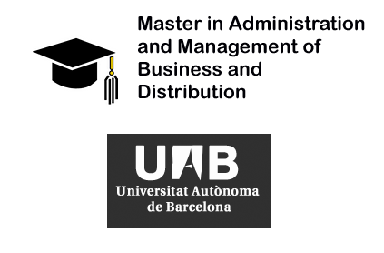 Master in Administration and Management of Business and Distribution – UAB