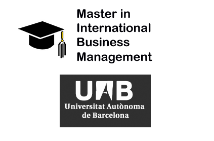 Master in International Business Management – UAB
